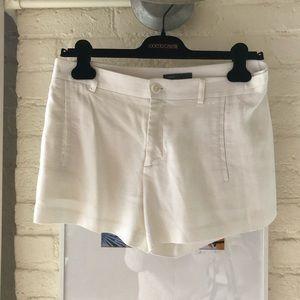 Vince white Linen Shorts